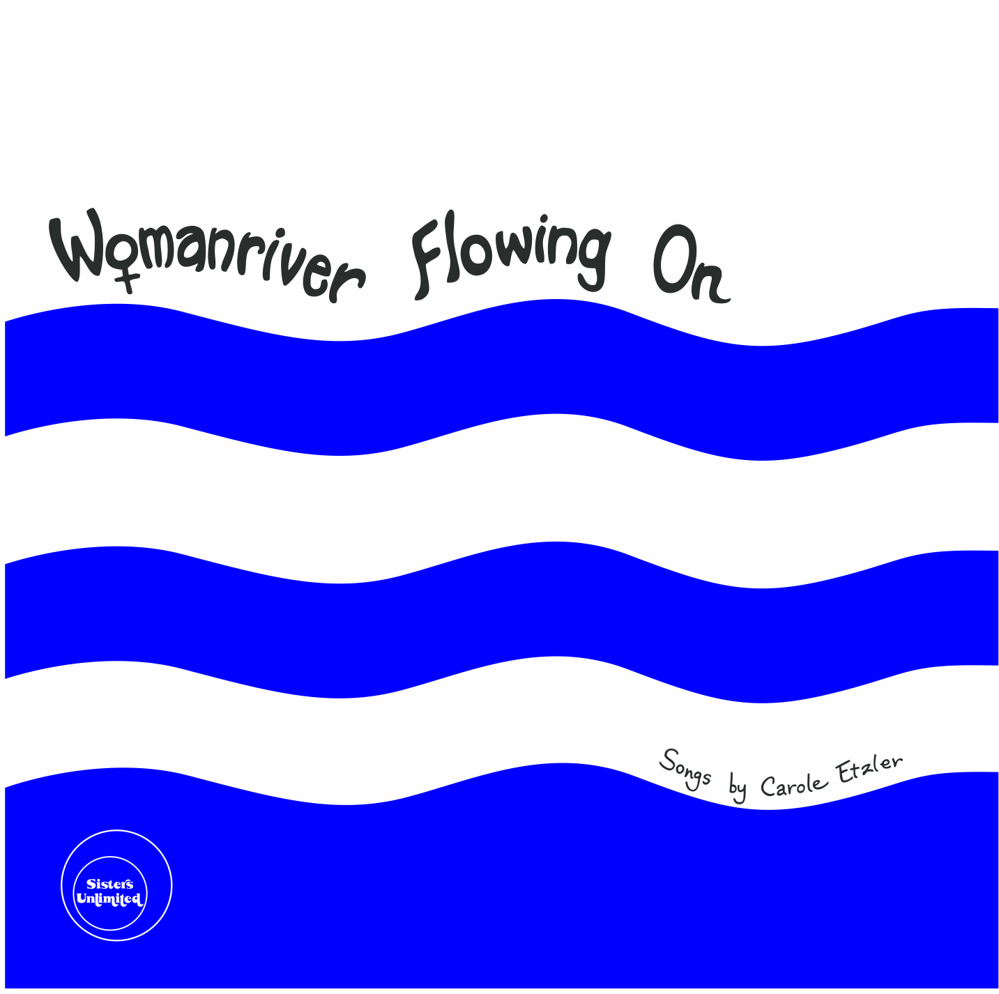 Womanriver Flowing On cover