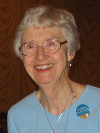 Rev Shirley Ranck at ICUUW Feb 2009